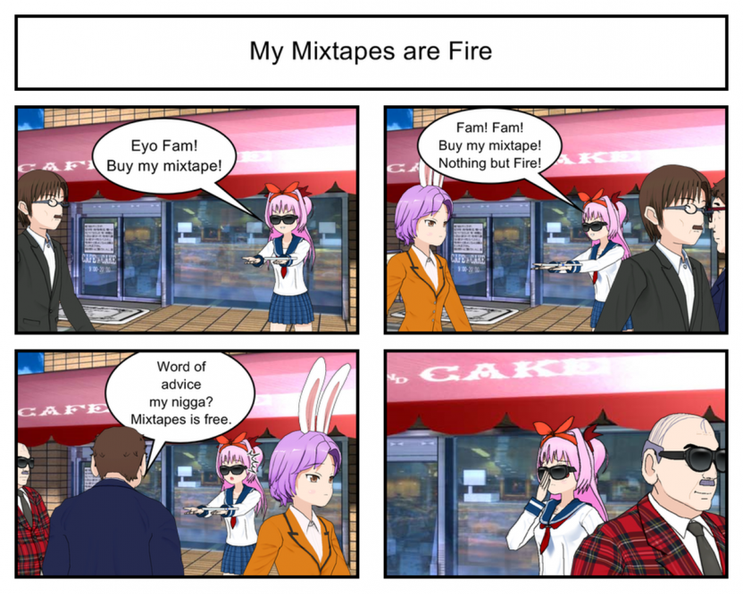OG-Chan #21 – My Mixtapes are Fire