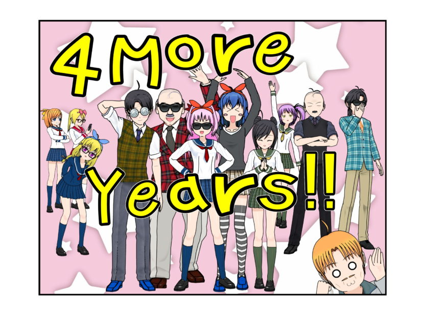 OG-Chan # 393 – 4 More Years!!